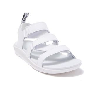 Dr. Martens White Redfin Hydro Leather Sandals